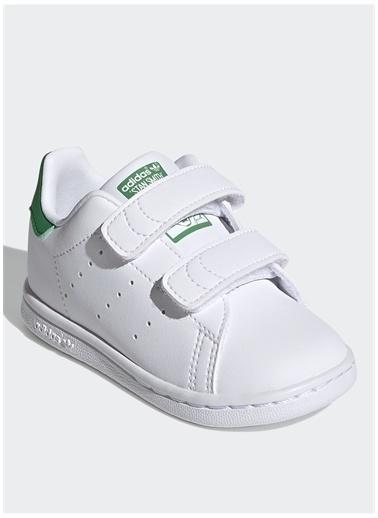 adidas Adidas Erkek Çocuk Beyaz Yeşil Yürüyüş Ayakkabısı Beyaz